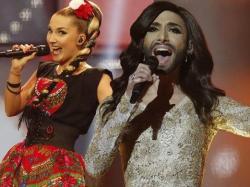 Szok <b>na</b> <b>Eurowizji</b>: Wygrywa <b>kobieta</b> <b>z</b> <b>brodą</b>, a jury zabiera Polsce aż 100 punktów!