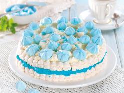 Szybki tort bezowy