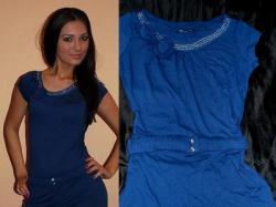 szykowna i piękna sukienka tunika nowa
