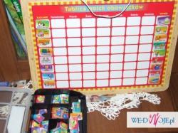 Tablica obowiązków/kalendarz