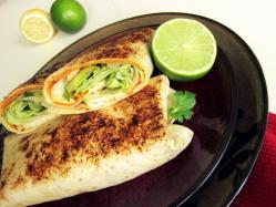 Tajskie burrito - Kasia gotuje z Polki.pl