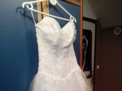 TALIA OSY! Suknia ślubna po ciąży i dla Pań bez talii