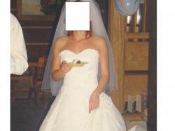 Tania(400pln), ladna suknia slubna