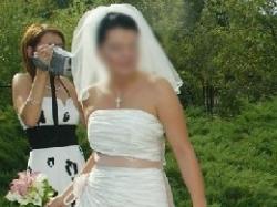 tania, piękna suknia ślubna+welon gratis!!!