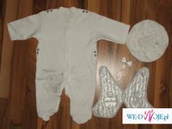 Tanie ładne ubranko do chrzty roz.68 dla chłopca
