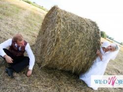 TANIO!!!!Bajeczna Suknia Ślubna!! Dużo dodadków!!