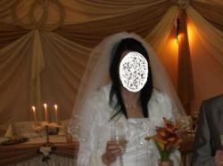 Tanio jedwabna suknia ślubna Celine + DODATKI