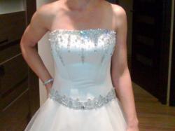 Tanio nowa suknia ślubna princessa