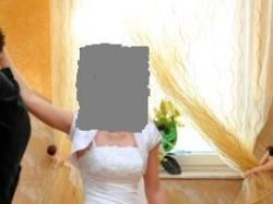 TANIO sprzedam Suknię ślubną 34/36.