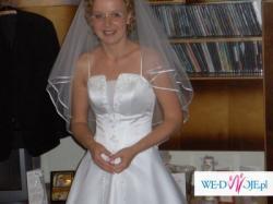 TANIO sprzedam suknię ślubną!