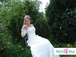Tanio sprzedam suknię ślubna