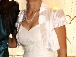 """Tanio sprzedam suknię ślubną """"Hiszpankę"""""""