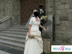 tanio suknia ślubna kareen 2009!