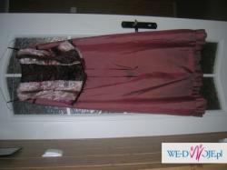 TANIO!!!!!suknia wieczorowa 38