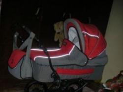 Tanio wózek głęboko spacerowy el jot carmen