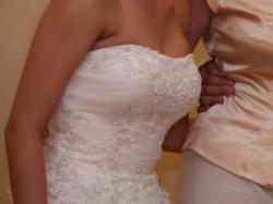 Tiulowa suknia ślubna sincerity bridal 3339
