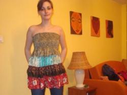 Top - spódnica - prosto z Indii