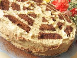 Tort chałwowy - Kasia gotuje z Polki.pl