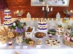 Torty weselne, słodkie stoły