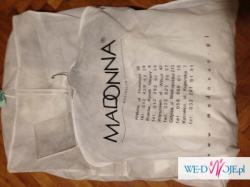 TRES CHIC (Madonna) suknia ślubna z szalem rozmiar 40 - też na ciążę