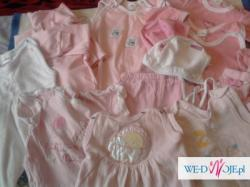 ubranka 56-62 dla dziewczynki