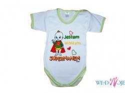 Ubranka dla niemowląt, body śmieszne napisy!!!
