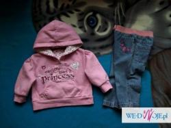 Ubranka dla Twej córeczki rozmiary od 74 do 146