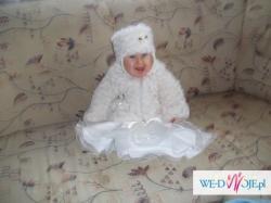 ubranko dziewczęce do chrztu