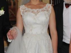 Unikalna suknia ślubna! Tanio!