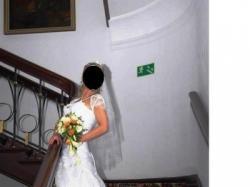 """Unikatowa suknia ślubna """"Angielka"""""""
