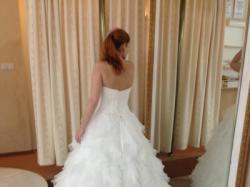 Unikatowa suknia ślubna +bolerko