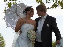 Unikatowa suknia ślubna Gala Hada + dodatki