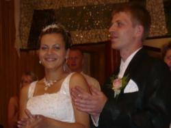urocza i oryginalna suknia ślubna