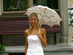 Urocza suknia na szczupla i wysoka Panne Mloda