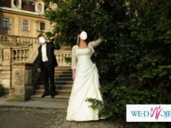 Urocza suknia ślubna!!!