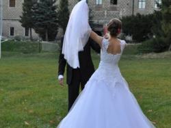 Urocza suknia ślubna Agora!