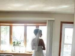 Urocza suknia ślubna, David's Bridal
