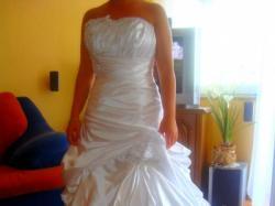 Urocza suknia ślubna ETERNITY BRIDE 4007