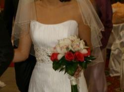Urocza  suknia ślubna Gala 2009