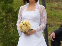 Urocza suknia ślubna Julia Rosa