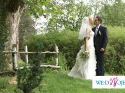 urzekająca suknia ślubna