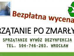 Usługi dezynfekcji cena, tel. 504-746-203. Sprzątanie nieczystości, Wrocław