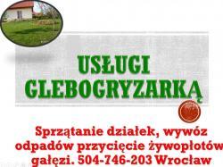 Usługi glebogryzarką, cena, tel 504-746-203, przekopanie, glebogryzarka,