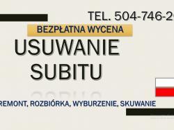 Usuwanie kleju z posadzki, tel, 504-746-203. Lepik,subit, klej z podłogi. Wrocław.usunięcie, lepik, smoła, subit, cennik,