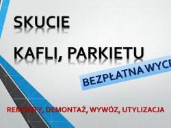 Usuwanie starej tapety tel. 504-746-203, zerwanie starych tapet, cena.Wrocław