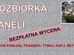 Usuwanie starej tapety tel. 504-746-203, zerwanie starych tapet, cena., Wrocław,