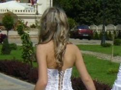 Używana biała suknia ślubna, rozmiar 38