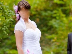 Używana suknia ślubna z salonu Sisi Lublin ul.Lubartowska 14