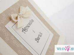 Varieti - zaproszenia ślubne, księgi gości, winietki HAND MADE