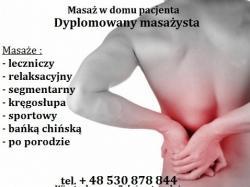 VitaMasaż - Masaż Leczniczy Kręgosłupa - Wizyty Domowe - Ursynów